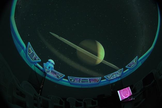 Simulazione di Saturno