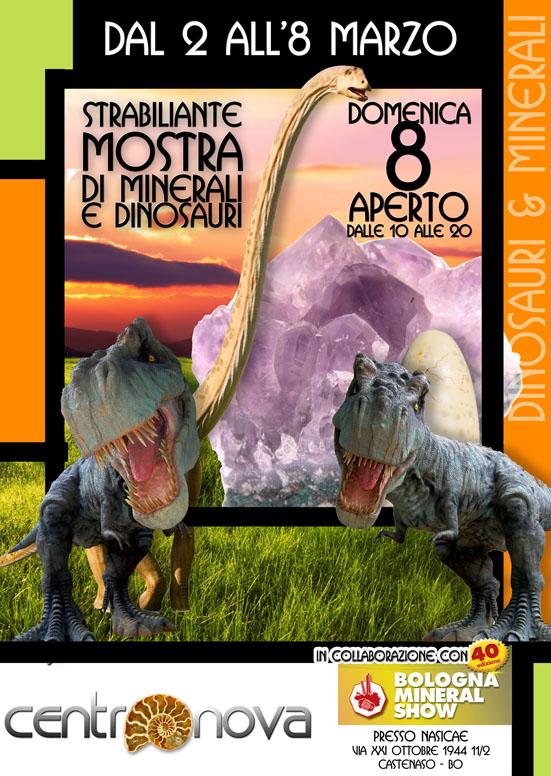 Evento Dinosauri Centronova