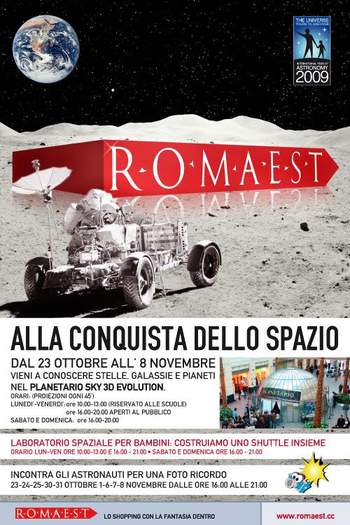 Planetario al Centro Commerciale Roma Est
