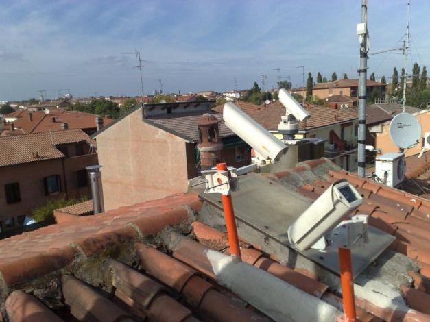 Le tre stazioni video IMTN di Ferrara