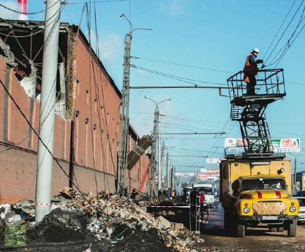Danneggiato fabbrica a Chelyabinsk. Foto da znak.com