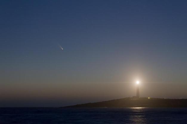 Cometa Panstarrs da Cape Leeuwin  Credit : Colin Legg Photography