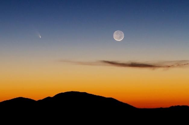 fotografia di Brian Klimowski del  12 marzo da Flagstaff, AZ