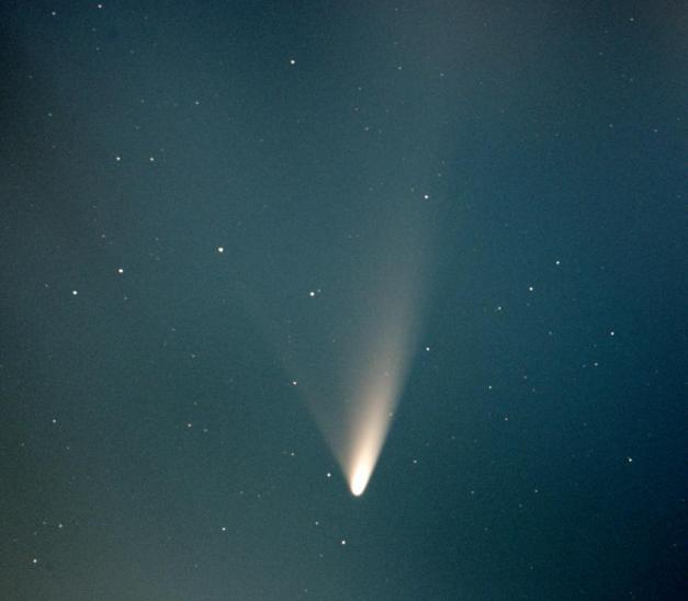 cometa Panstarrs fotografata dalla Nuova Zelanda l'1marzo da George Ionas