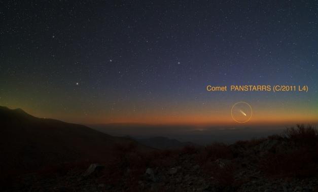 Fotografia di Yuri Beletsky del February 28, 2013 dal deserto di Atacama - Cile
