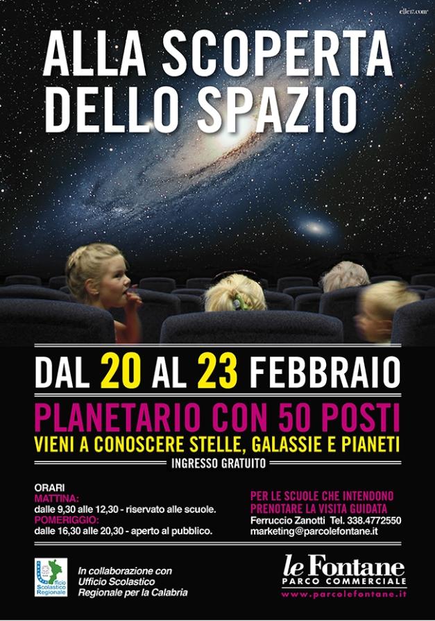 MANIFESTO Planetario Le Fontane