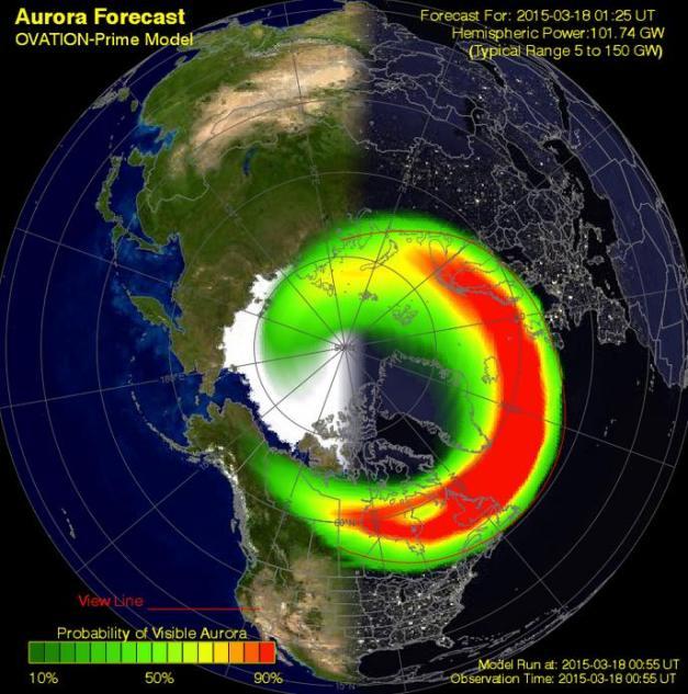 attività aurorale 18marzo2015