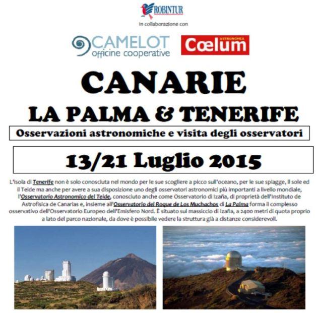 immagine Canarie 2015