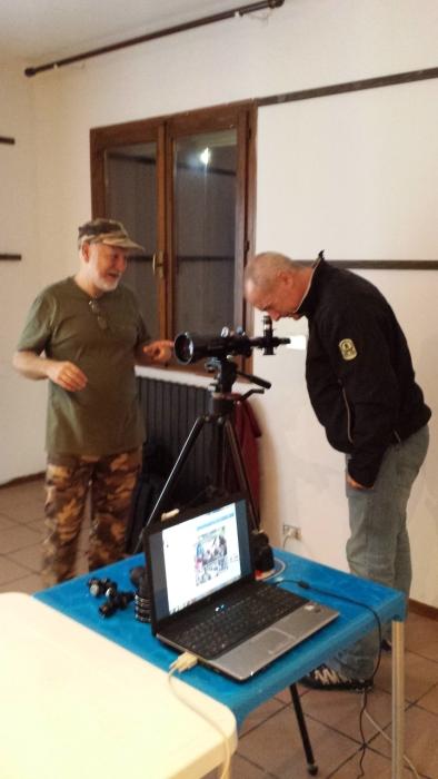 Controllo della qualità ottica di un telescopio