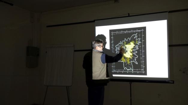 Mappa con l'epicentro dell'esplosione del corpo celeste che ha bruciato la foresta di Tunguska