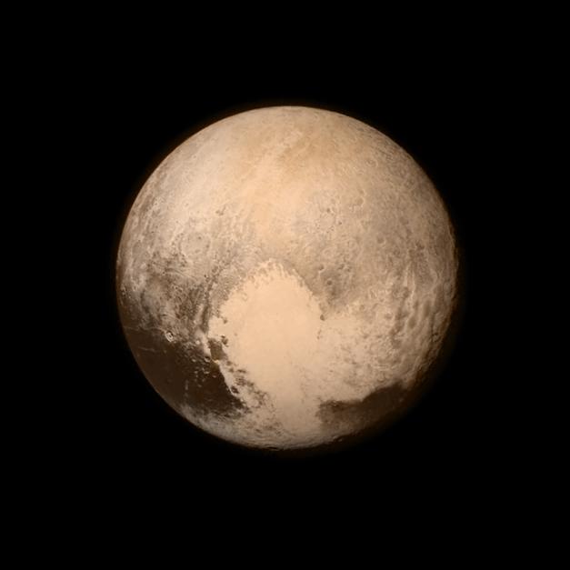 Plutone colori